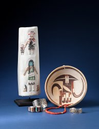 Shiprock Gallery - FROM THE MESAS: Arts and Crafts of the Hopi Pueblos
